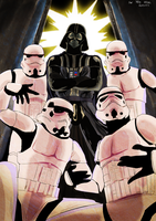 M.C Vader and the Troopers by Awesome-Matto