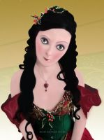 Christmas Doll by mishlee