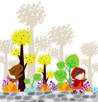the little red ridi- simplyphi by childrensillustrator
