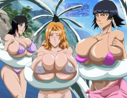 Bleach tentacle time :) by greengiant2012