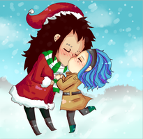 GALE snow kissin by wolfz206