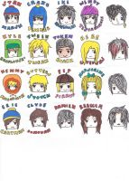 South Park Stickers 1 by HieisQueen07