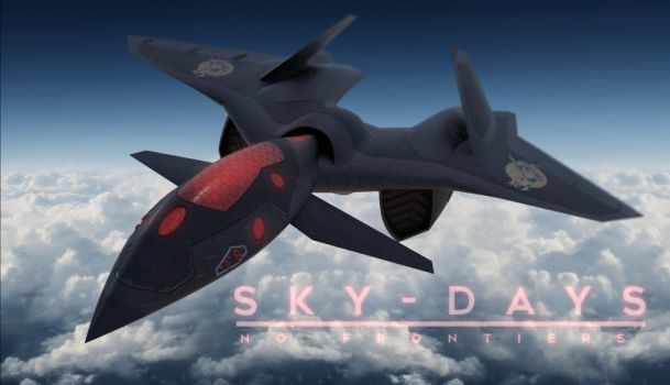 SKY-DAYS Fighter prototype OrCA by elquijote