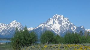 Grand Tetons by lupinelover