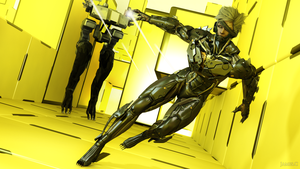 Metal Gear Rising - Vengeance by James--C