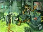 Escape from the laboratory by SHAKUMl