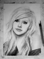 In progress.. Avril [Photo 8] by DesignerMF