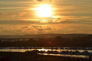 Rochester Sunset by LilMickey27