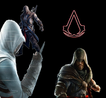 Assassins creed wallpaper2 by psycho-zombie