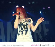 Hayley Williams  Paramore 02 by ciscotjuh