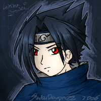 Naruto - Sasuke again by ShadowDragon22