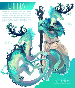character reference: emphia by clockbirds