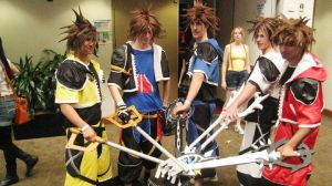 Sora's United. by GrimoireCosplay