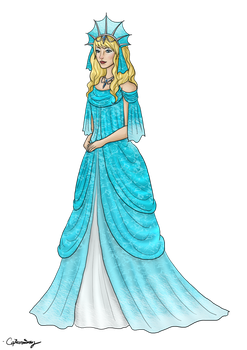Lady of the Sea by Captain-Savvy