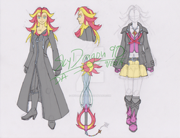Kingdom Hearts: Sunset Shimmer by SkyDragon90