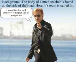 Horatio Caine One-Liner 1 by Adielsag
