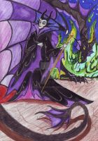 Maleficent - The Mistress of Evil by Psyjick