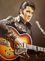 Elvis Presley by angelivanovart