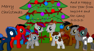 Merry Christmas from Imp344 and the Gang - 2012 by Imp344