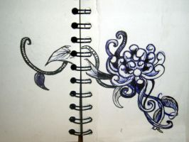 Quick sketch of a tattoo idea by Hardy-in-Wonderland