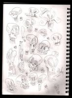 Skulls by Themrock