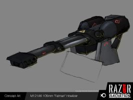 Weapon - 'Fatman' Howitzer by HozZAaH