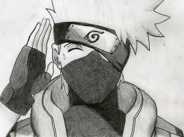 Kakashi Hatake by negative-creeq