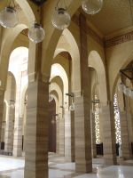 Bahrain Mosque (inside) by 7whitefire7