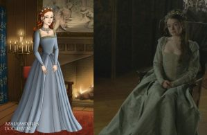 Princess Mary's Pale Blue Dress by LadyAquanine73551