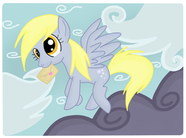 .:Derpy Hooves:. by Lord-Hon
