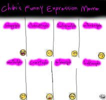 Funny Expression Meme -blank- by foxyko