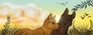 Brambleclaw and Squirrelpaw by Nitance
