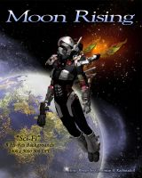 Moon Rising - Sci-Fi Backgrounds by Kachinadoll