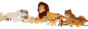 Lion Pride Adoptables by BrizzAdoptsXX