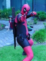 Deadpool wanted more Bea Arthur cosplayers by FUBARProductions