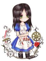 Alice: Madness Returns by pukedrawings