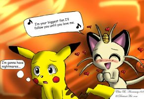 PikaMeow Insanity by Annamay168