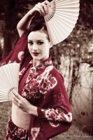 Geisha girl 3 by CHarrisPhotography
