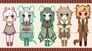 ADOPTABLE12- $8 [CLOSED] by niaro