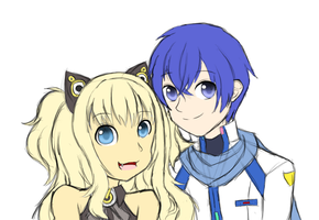 SeeU and Kaito by PixelKat01