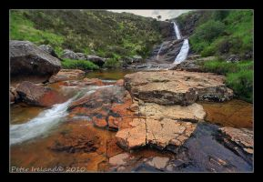 Waterfall with no name by Pistolpete2007