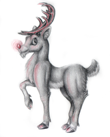 Rudolph The Red Nosed Reindeer by Pickledsuicune