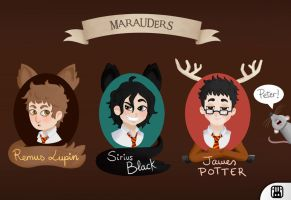 Marauders by BlackRamu