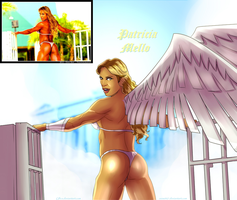 Heavenly Iron Angel Patricia Mello By Ulics by zenx007
