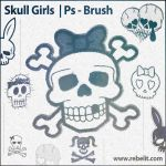 Skull Girls by alinema