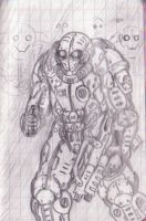 """Assault suit """"Mors"""" consept by tyrannos"""