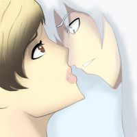 Arid Clouds_ kiss? by sYsTeMhAyWiRe