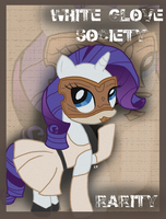 MLP/FO:NV Rarity by TheDovahBrine