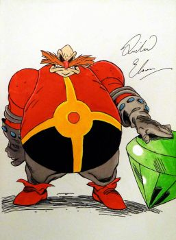 Dr Robotnik by Richard Elson by UltimateFrieza