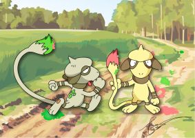 Messy Smeargle by FraankBiebs
